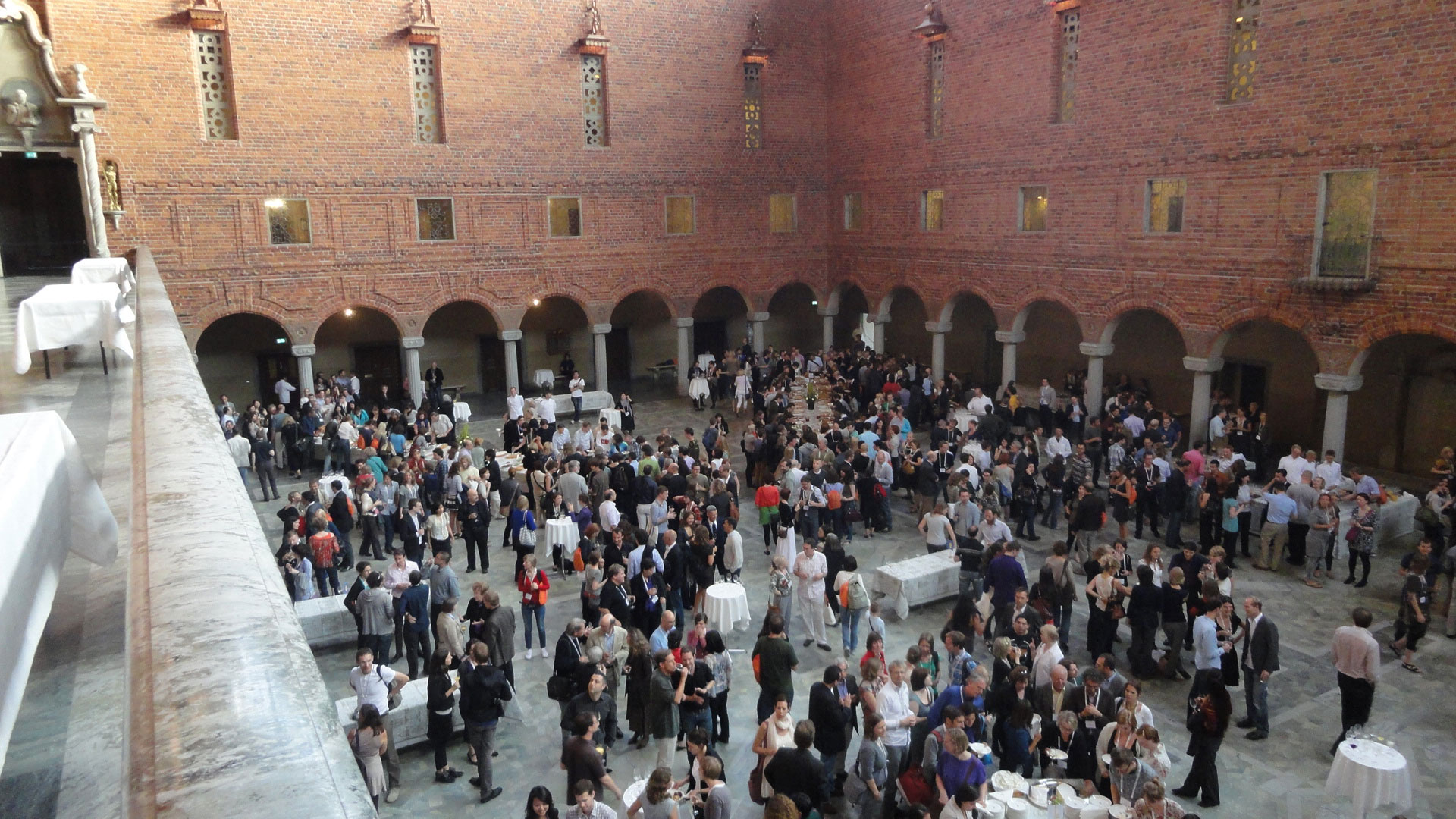 General Meeting Stockholm 2011: Welcome Reception Town Hall