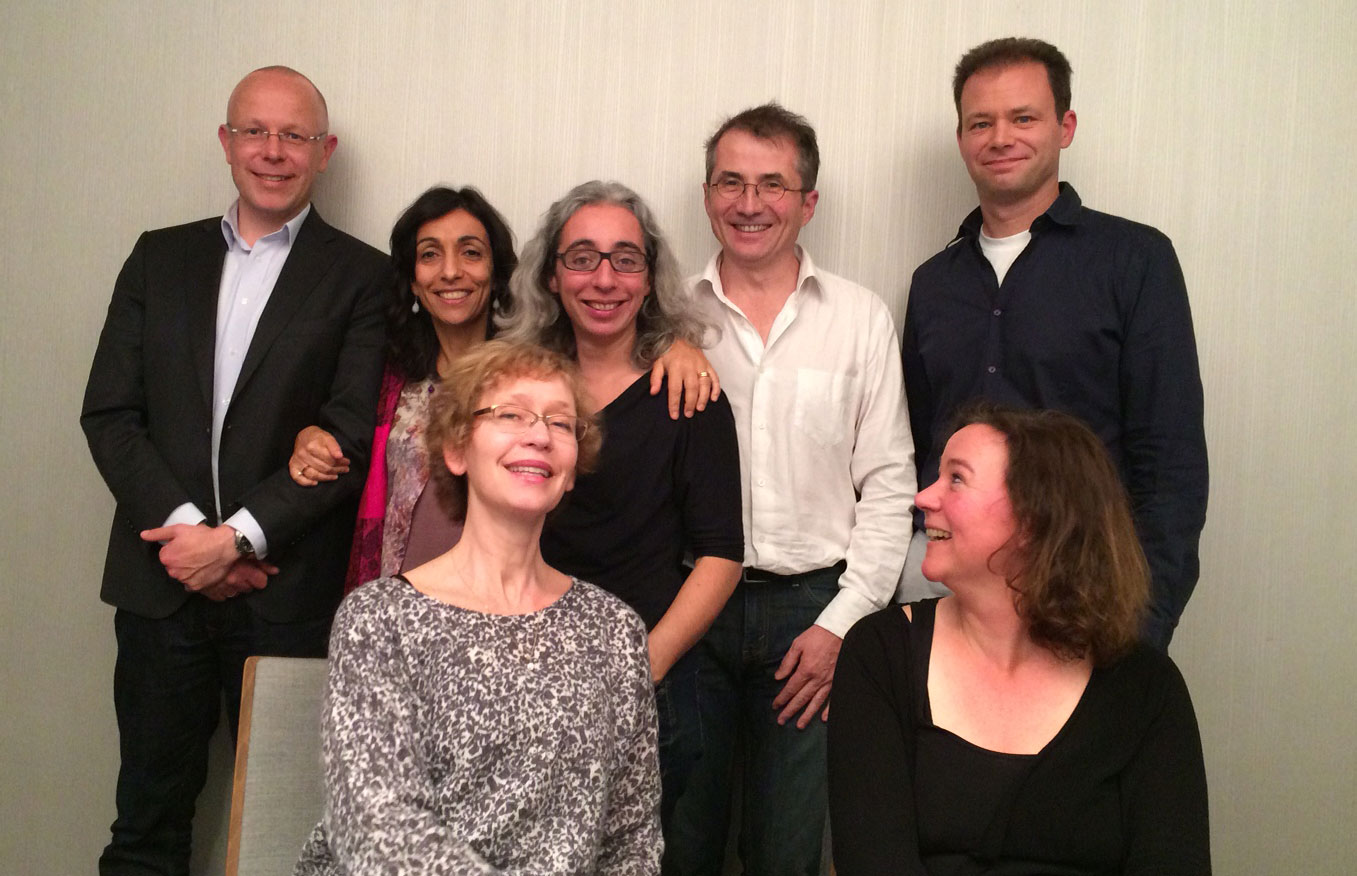 Executive Committee 2014 | front row (from left to right): Torun Lindholm, Ernestine Gordijn | behind (from left to right): Daniël Wigboldus, Mara Cadinu, Manuela Barreto, Jean-Claude Croizet, Kai Sassenberg