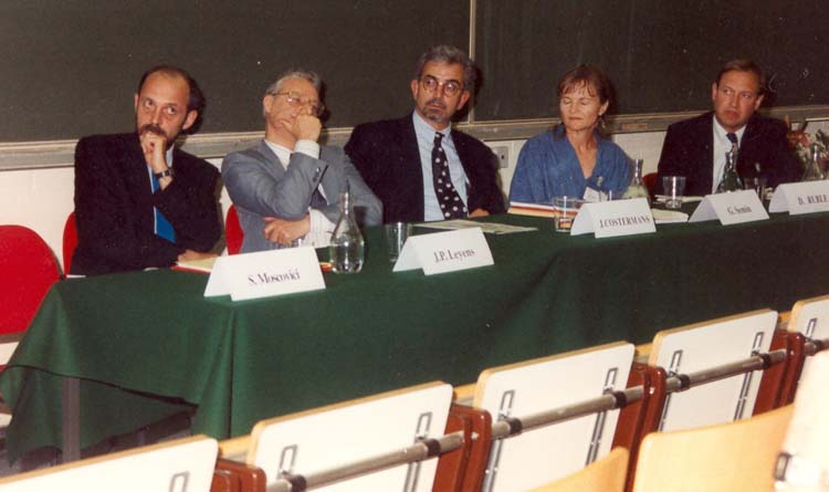EASP-SESP Joint meeting, Leuven-Louvain 1992, at Louvain-la-Neuve