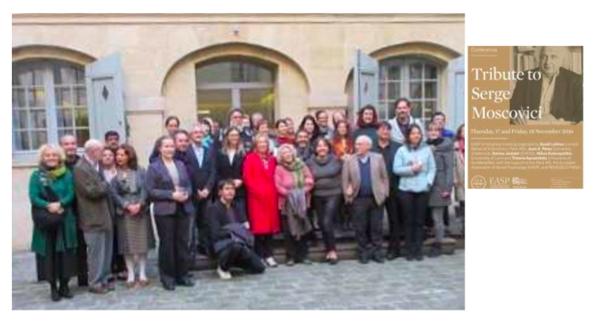 EASP Small Group Meeting in Honour of Serge Moscovici Paris 2016