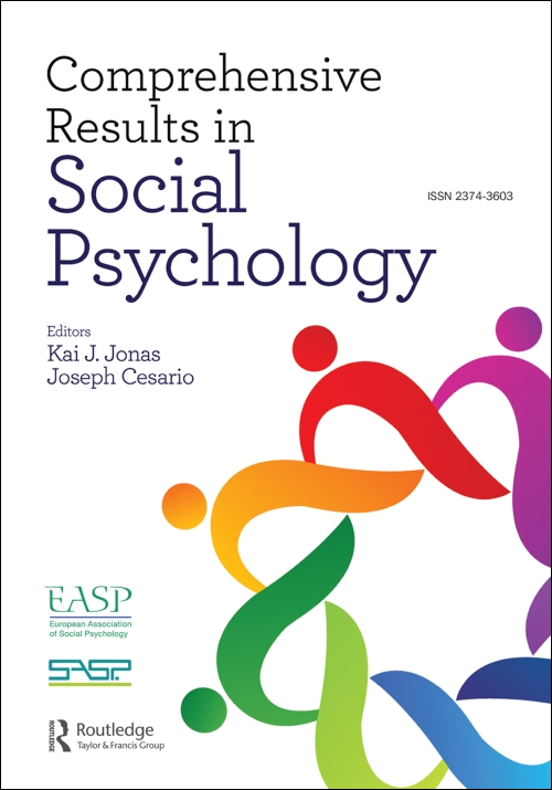 Comprehensive Results in Social Psychology Cover