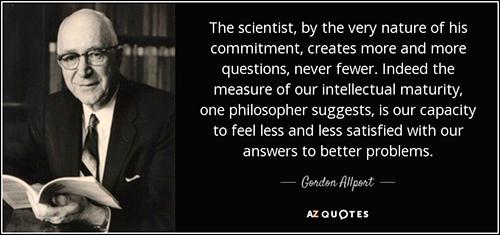 Gordon Allport Quote