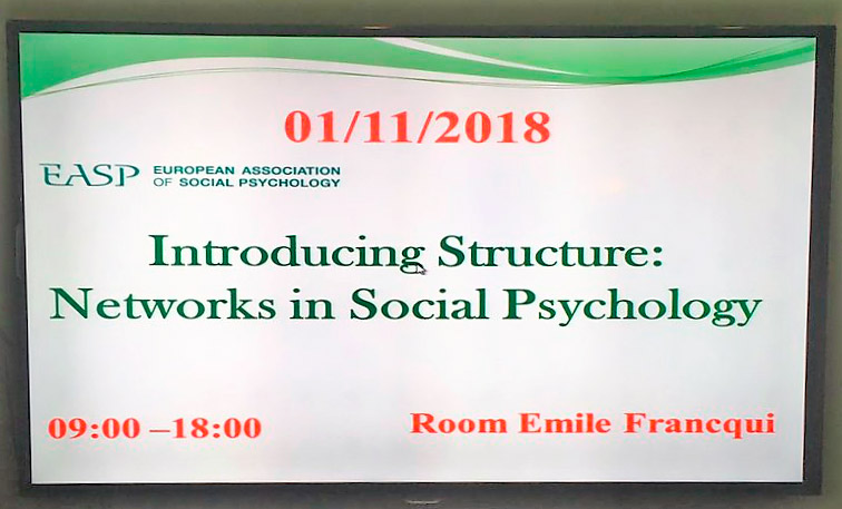 Introducing Structure: Networks in Social Psychology