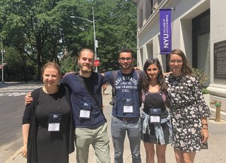 From left: Anja Munder, Kevin Winter, Ruddy Faure, Esma Çiftçi, and Melissa Vink