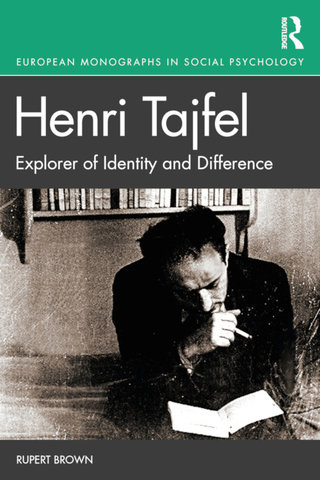 Cover: Henri Tajfel: Explorer of Identity and Difference